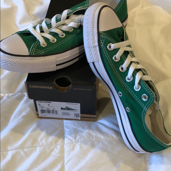 ff9af517d60a Converse all star amazon green sneakers - new